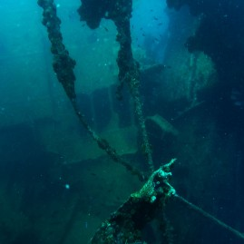 Antilla shipwreck from World War II, Aruba