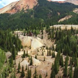 Abandoned mine. San Juan Mountains, Colorado.
